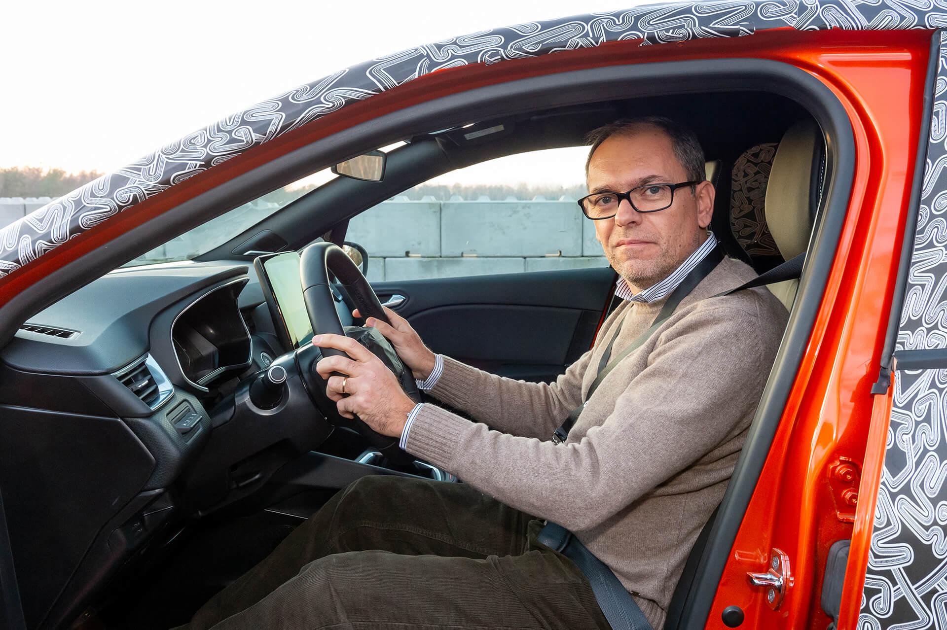 Renault Clio 2019, Francisco Mota ao volante