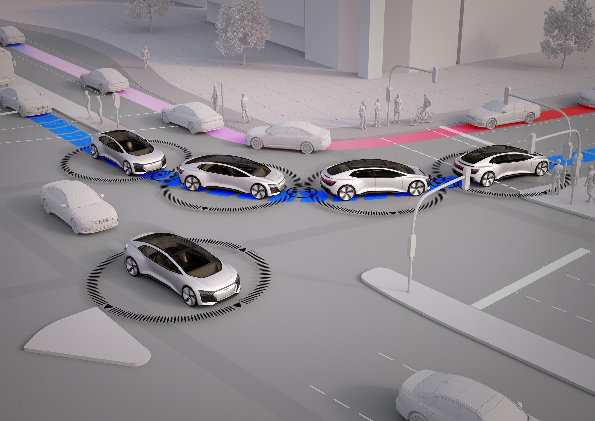 Audi futuro carros conetados