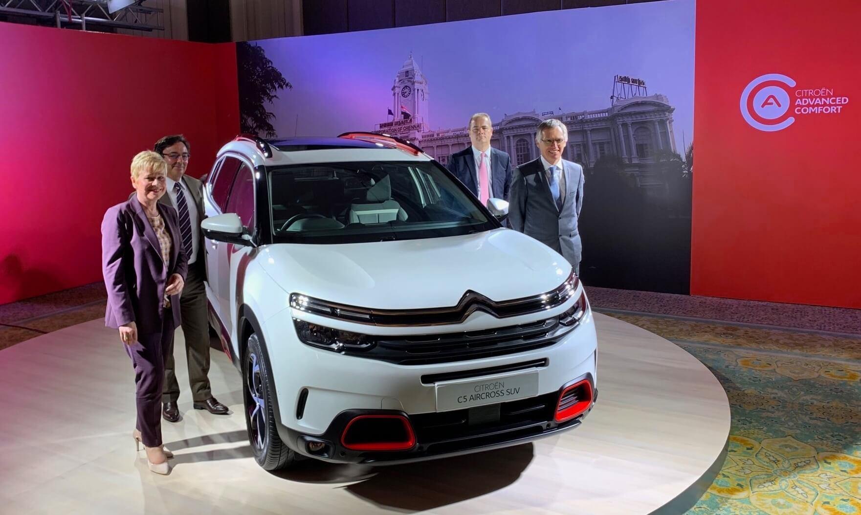 Citroën lançamento na Índia