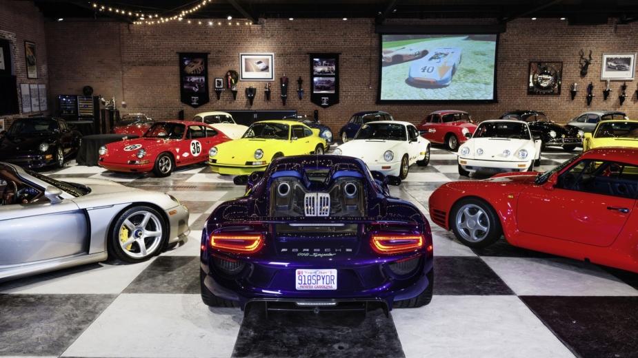 Coleção Porsche Bob Ingram