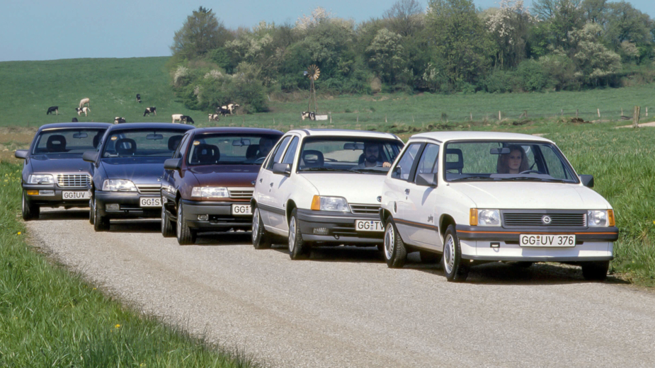 Gama catalisada Opel
