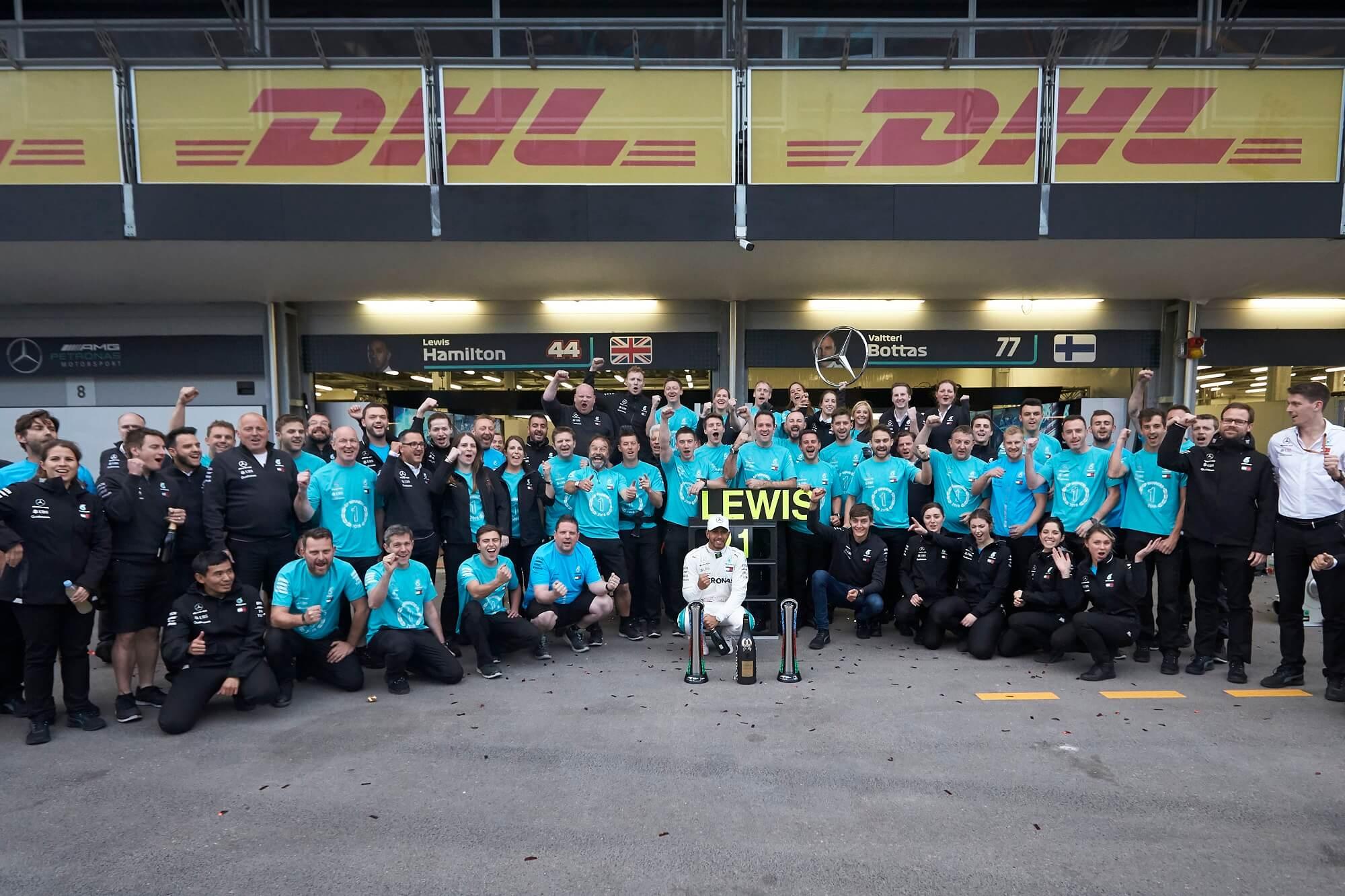 Lewis Hamilton Baku 2018