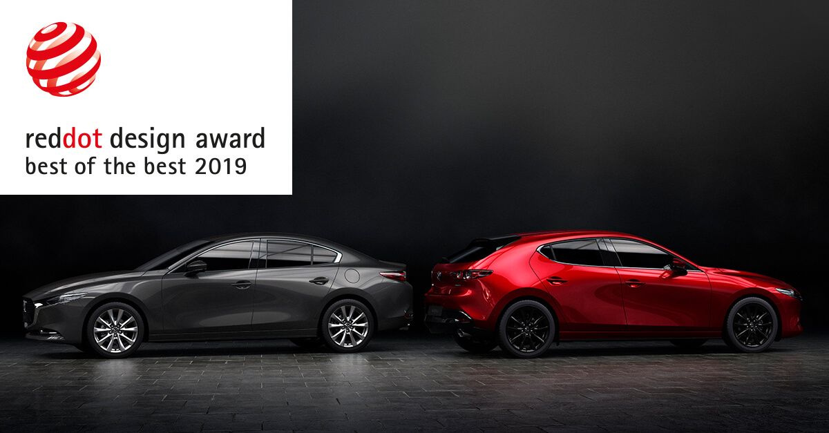 Mazda 3 Red Dot Awards