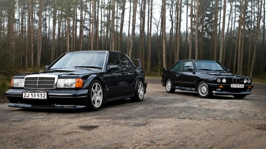 Mercedes-Benz e BMW