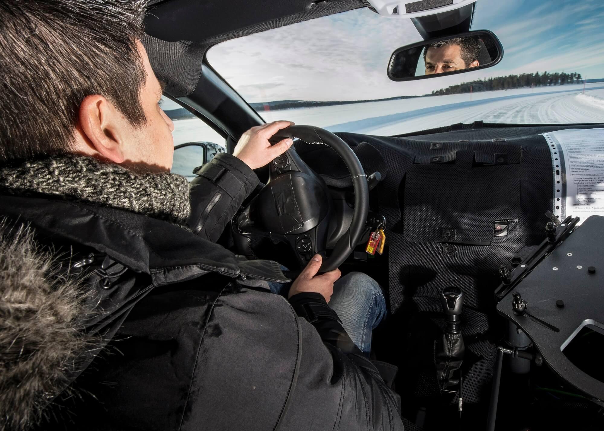 Opel Corsa testes
