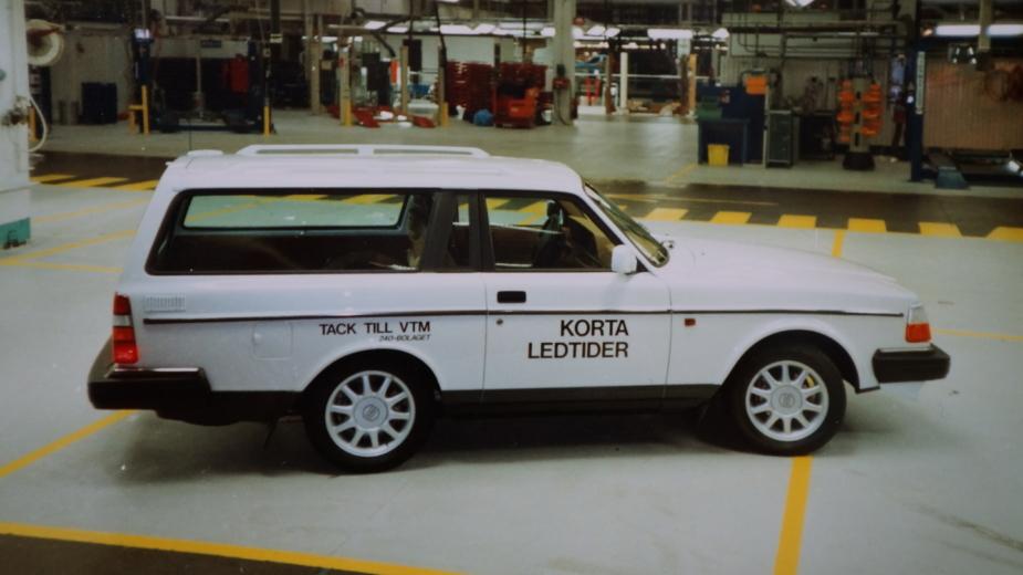Volvo 240 encurtada