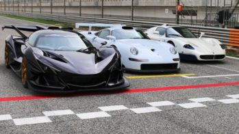 apollo intensa emozione, porsche 911 gt1, maserati mc12