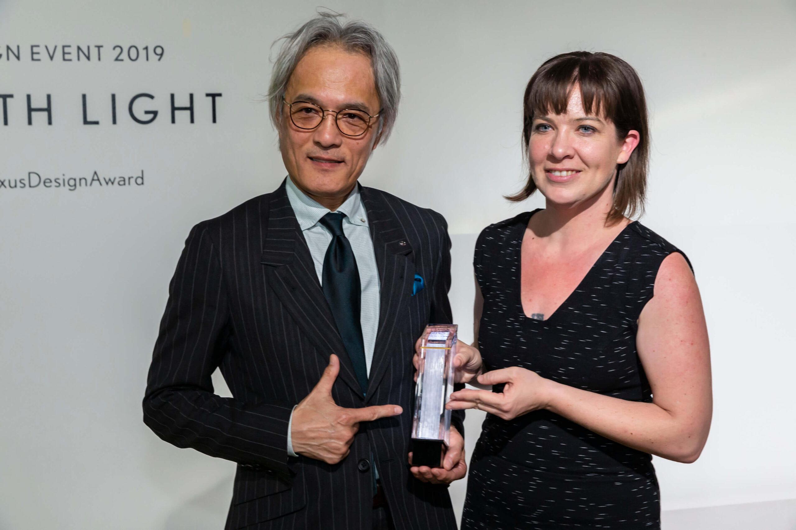 Yoshihiro Sawa com Lisa Marks