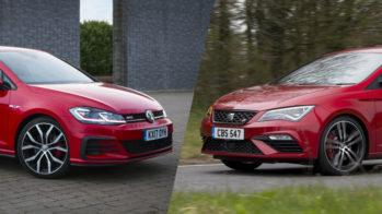 Volkswagen Golf e SEAT Leon