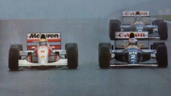Senna em Donington Park