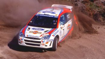 Colin McRae Ford Focus WRC