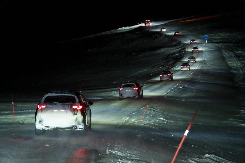 MAzda Epic Drive — CX-5 em fila