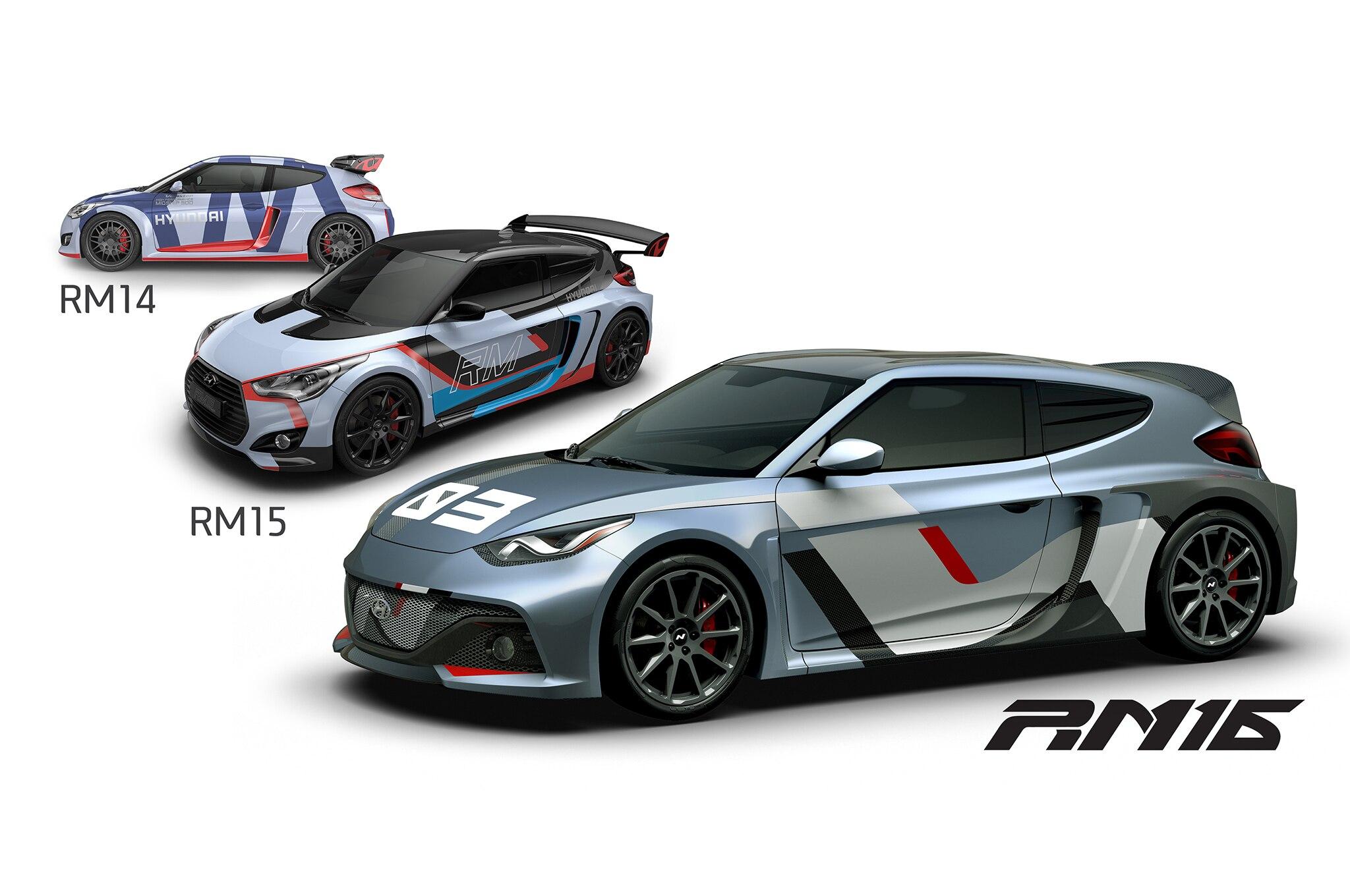 Hyundai RM14, RM15 e RM16