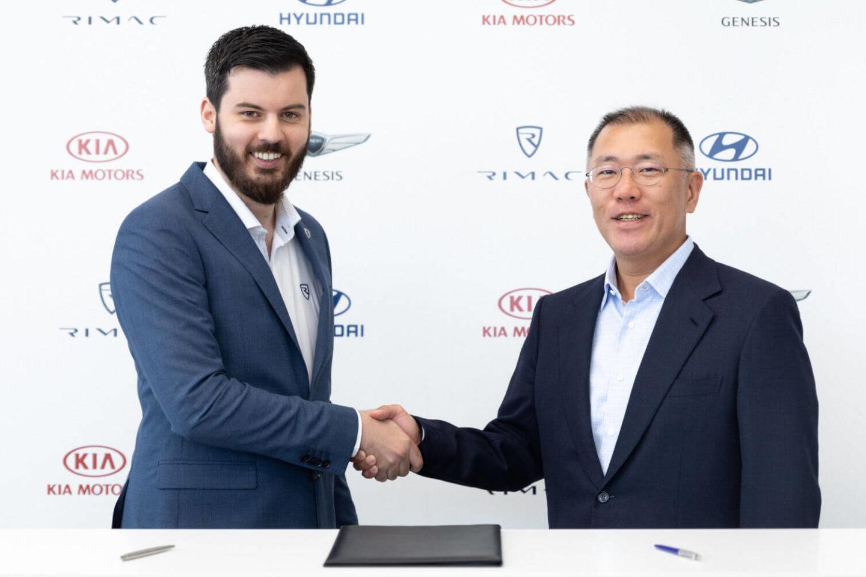 Hyundai e Rimac acordo