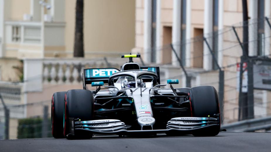Mercedes-Petronas Mónaco