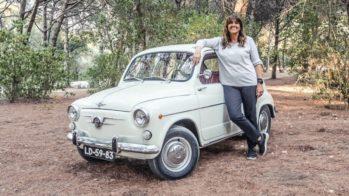 SEAT 600 com Teresa Lameiras