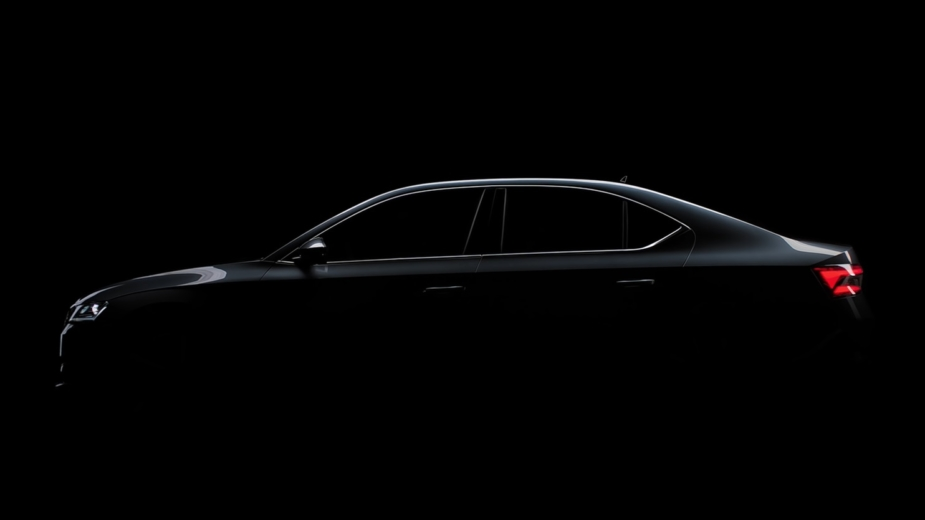 Skoda Superb Teaser