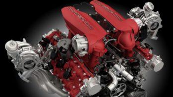 Ferrari 488 3.9 V8 motor