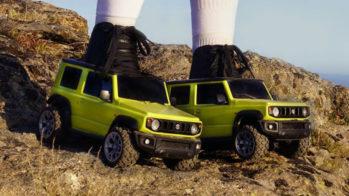 Suzuki Jimny patins