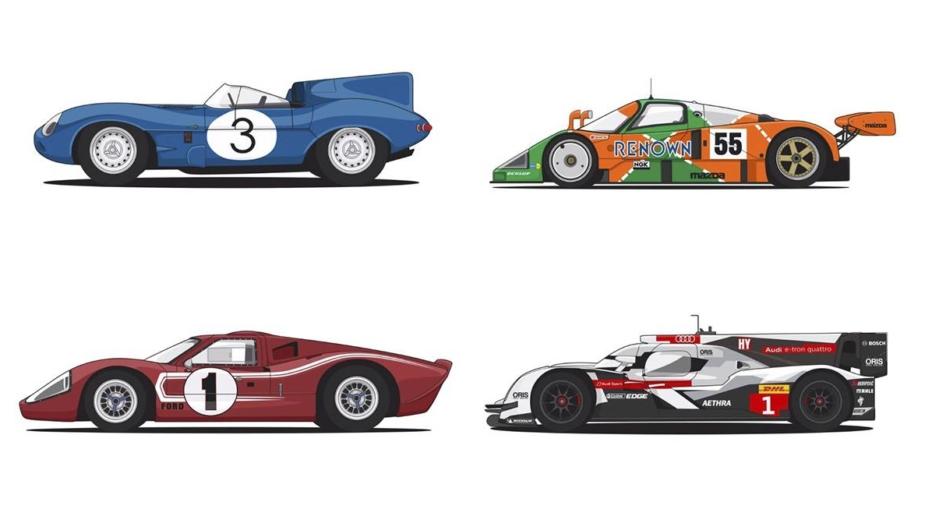 Vencedores 24 Horas de Le Mans