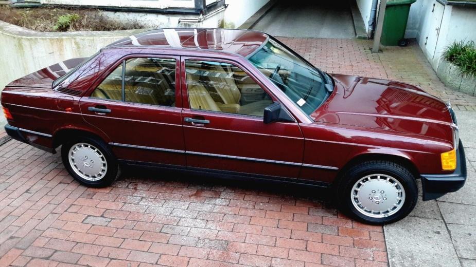 Mercedes-Benz 190 E 2.3, 1986
