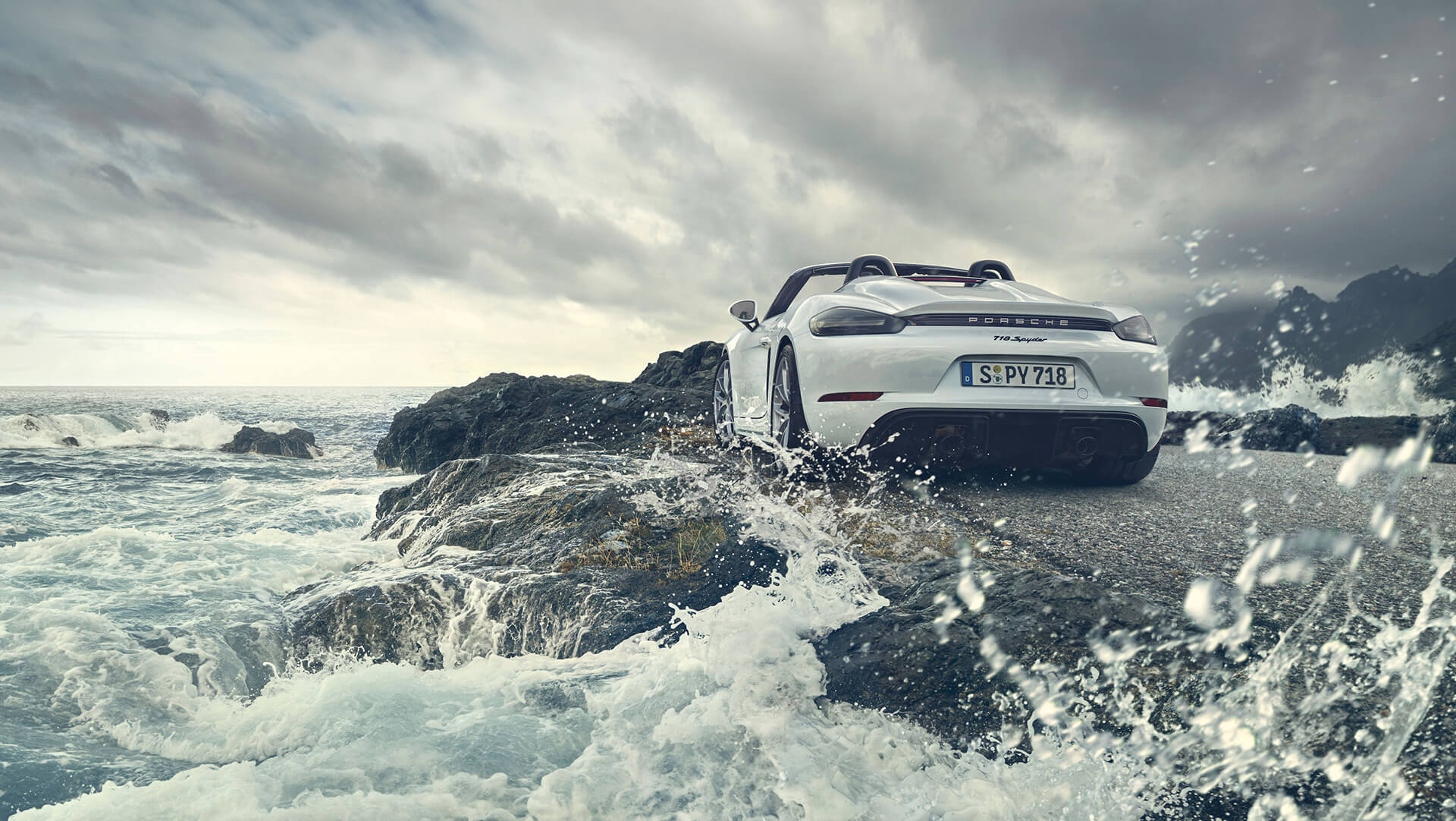 Porsche 718 Spyder, 2019