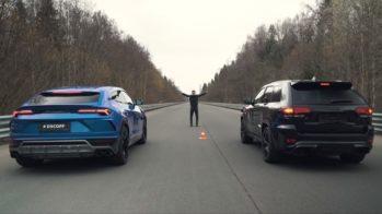 Jeep Grand Cherokee Trackhawk vs Lamborghini Urus