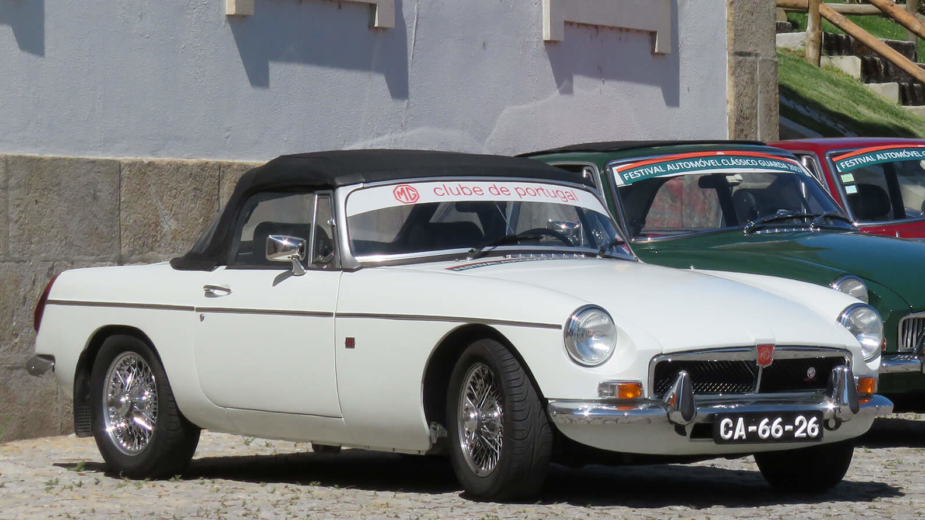 Classic Car Tours, MG B