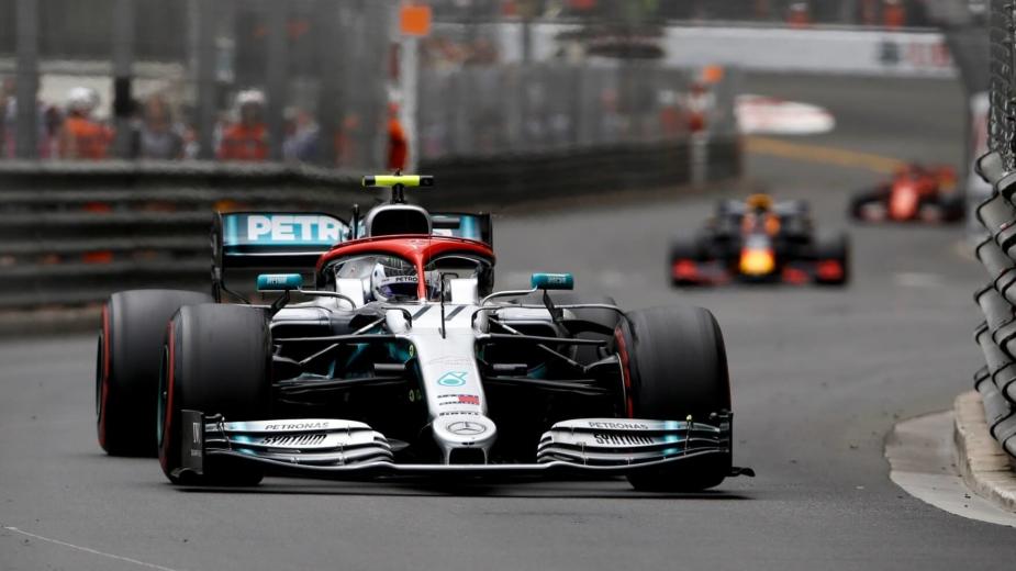 Mercedes F1 Mónaco