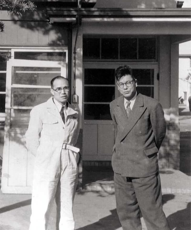 Soichiro Honda e Takeo Fujisawa