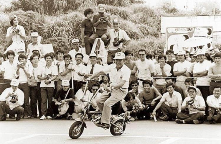 Soichiro Honda motorcycle