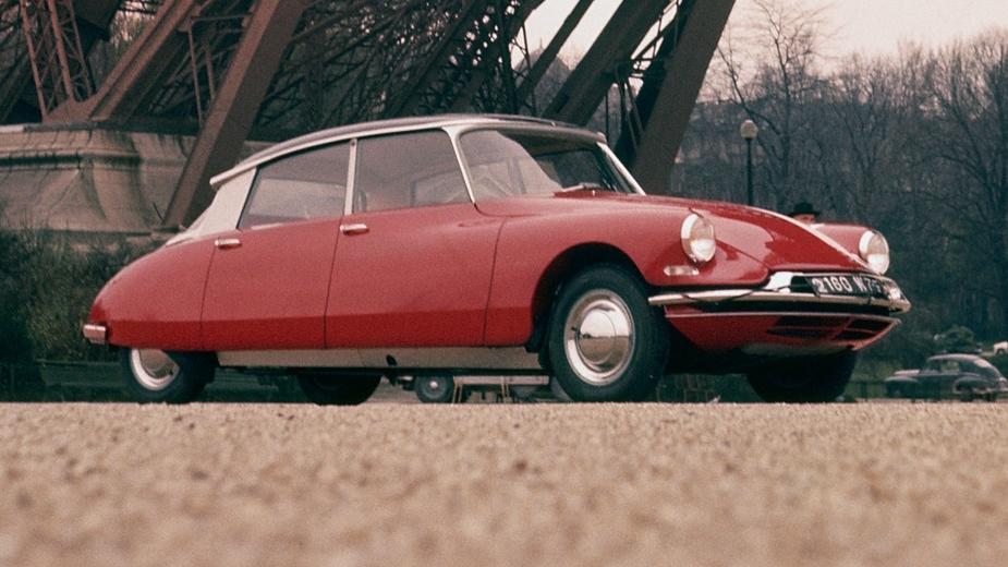 citroën ds, 1955