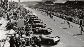 Arranque 24 Horas de Le Mans 1955