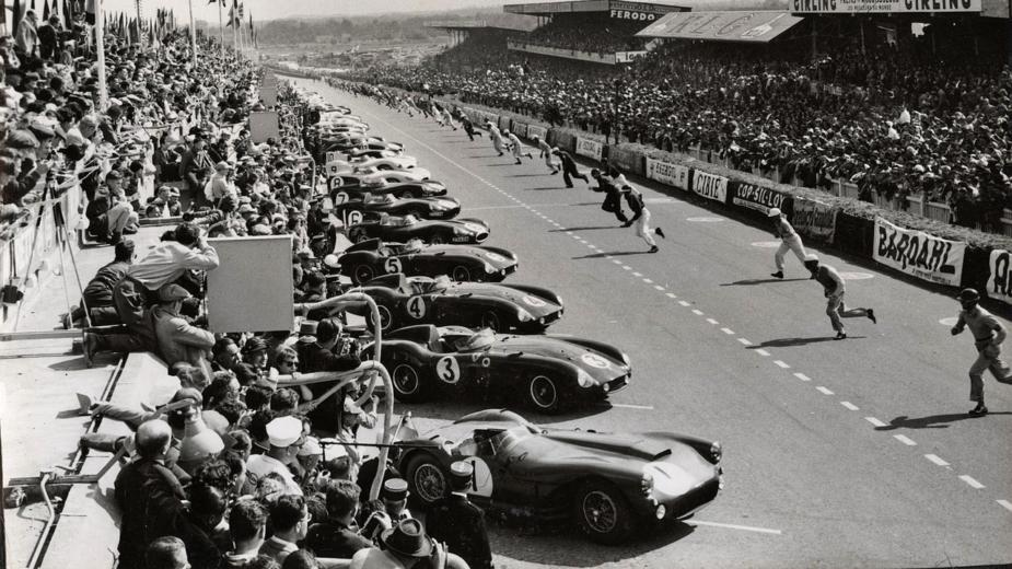 Arranque 24 Horas Le Mans 1955