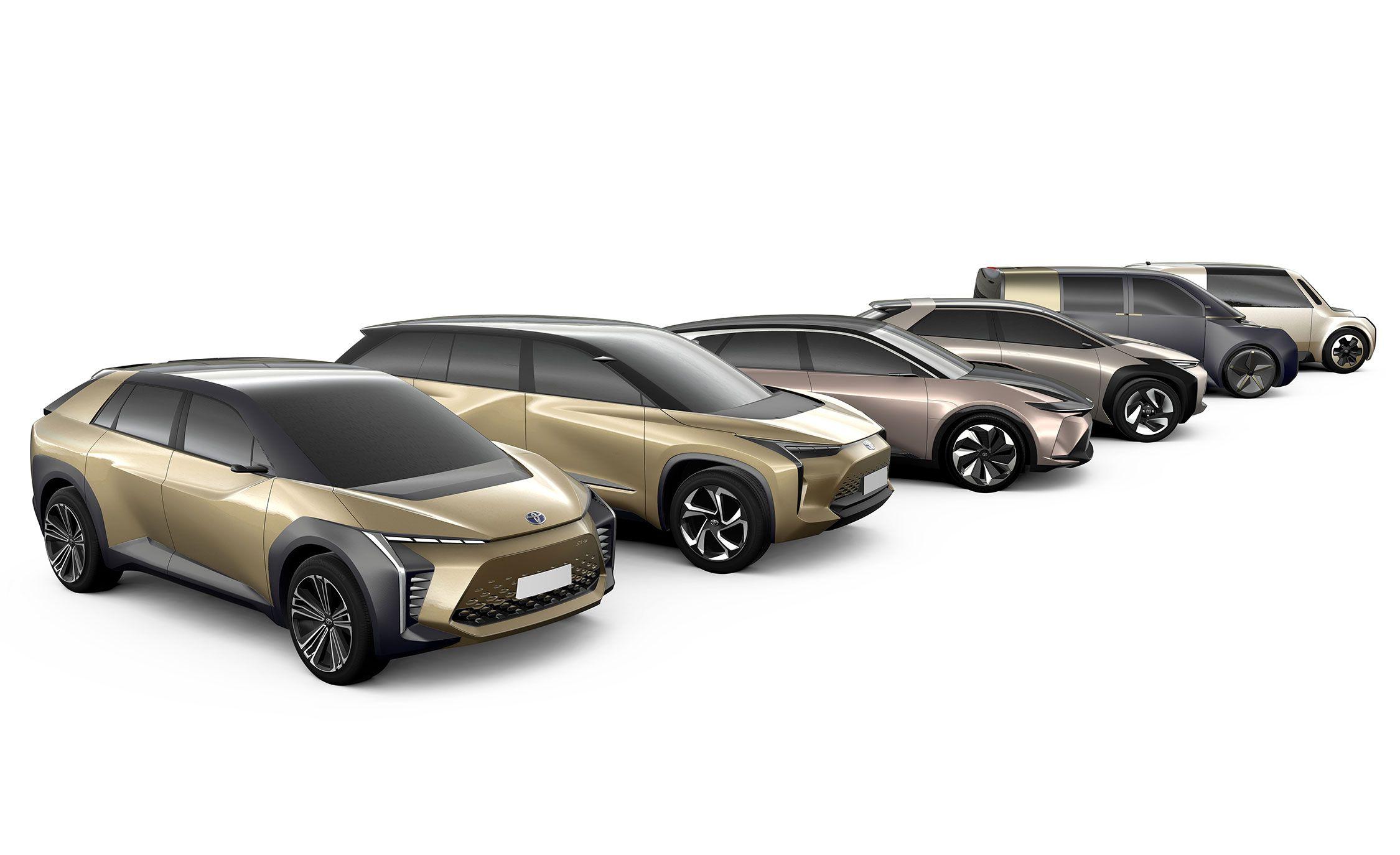 Toyota e-TNGA concepts