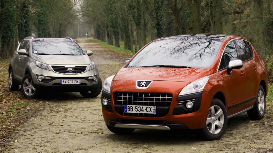 Peugeot 3008 e Kia Sportage
