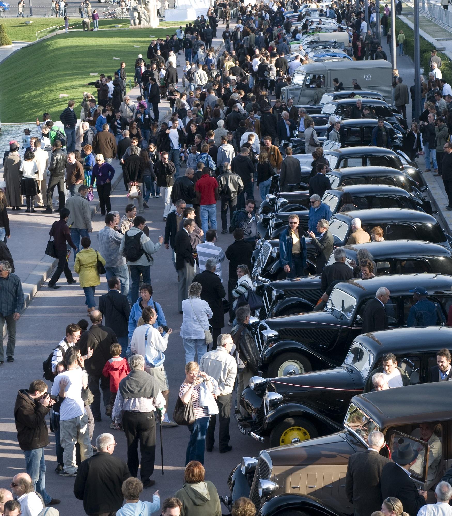 Centenário Citroën - Encontro do Século em La Ferté Vidame