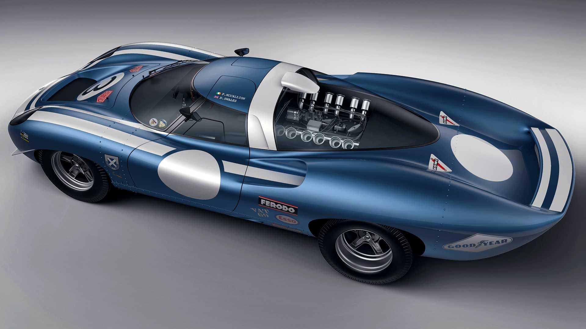 Ecurie Ecosse LM69. Um Protótipo De Le Mans Da Década De