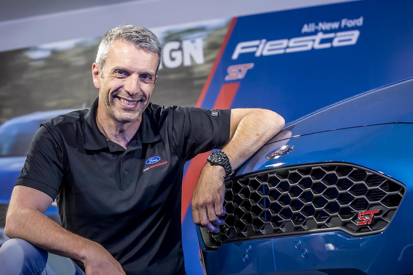 Leo Roeks, líder da Ford Performance Europe