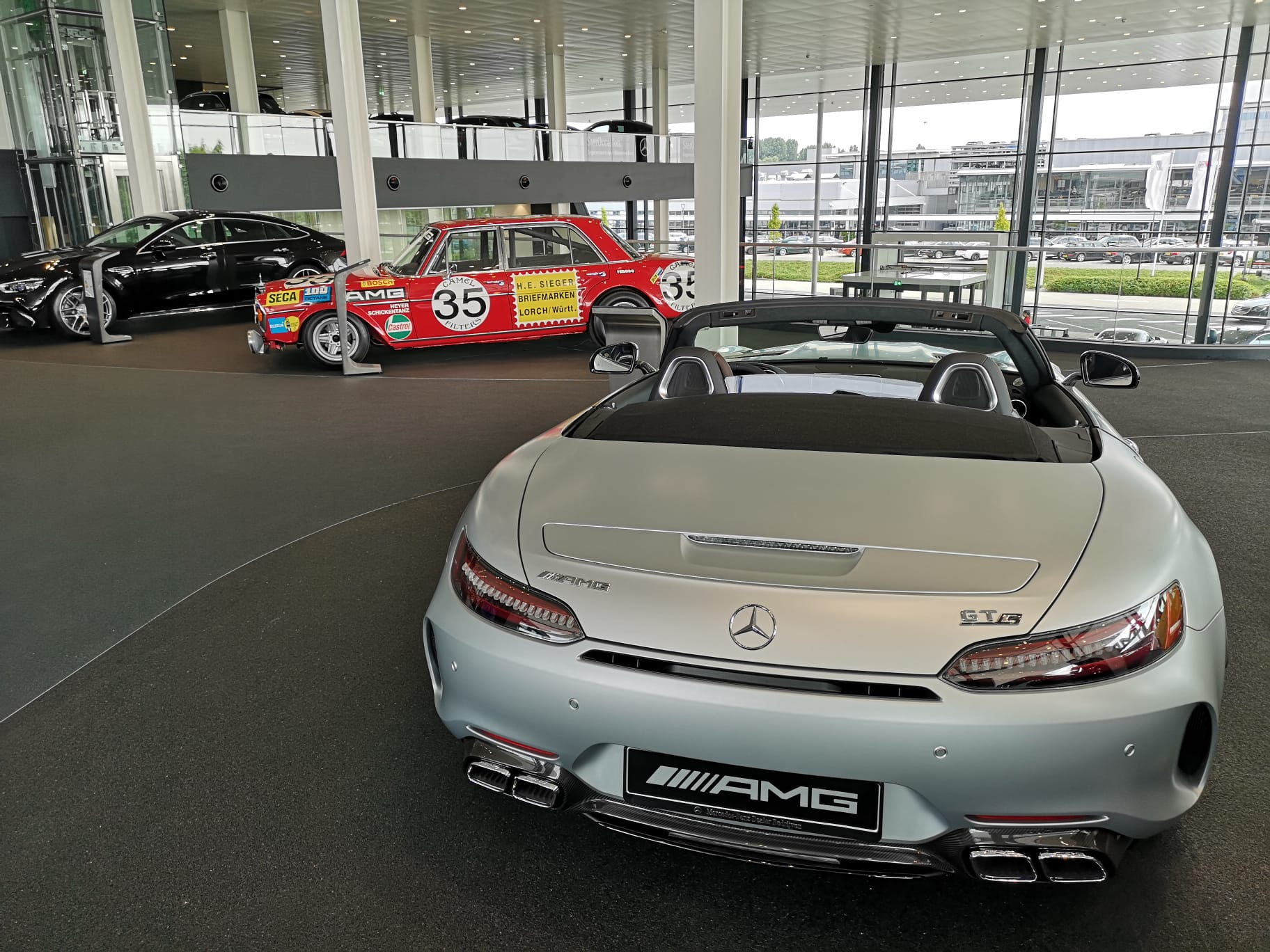 Mercedes-Benz, stand do futuro
