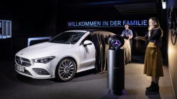 Mercedes-Benz, stand futuro