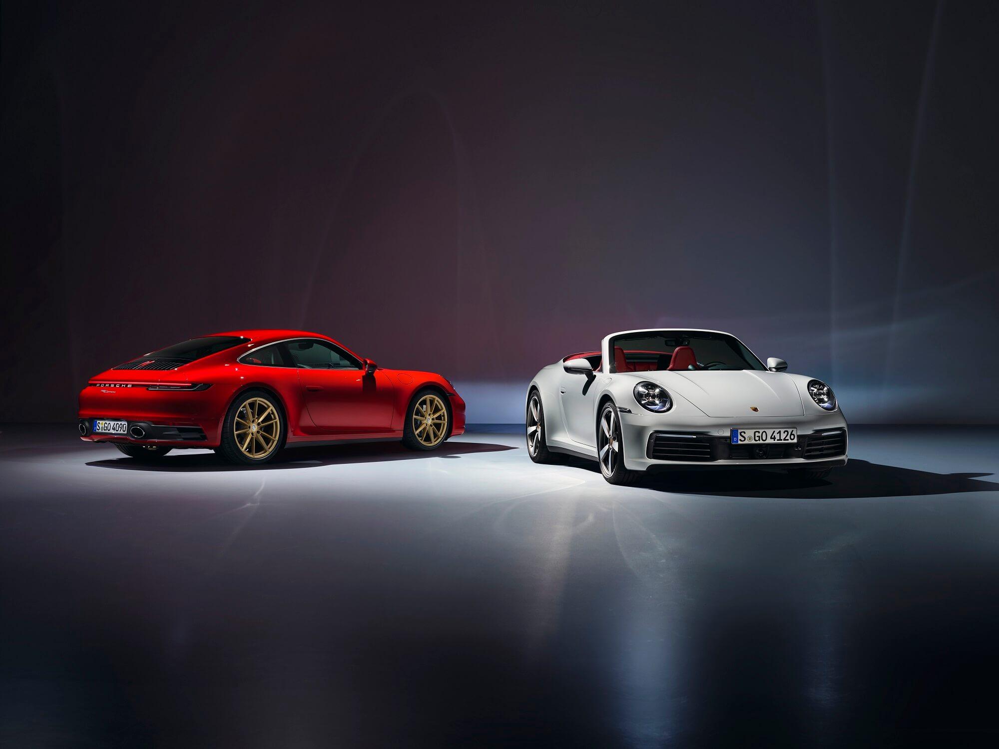 Porsche 911 Carrera, Porsche 911 Carrera Cabriolet