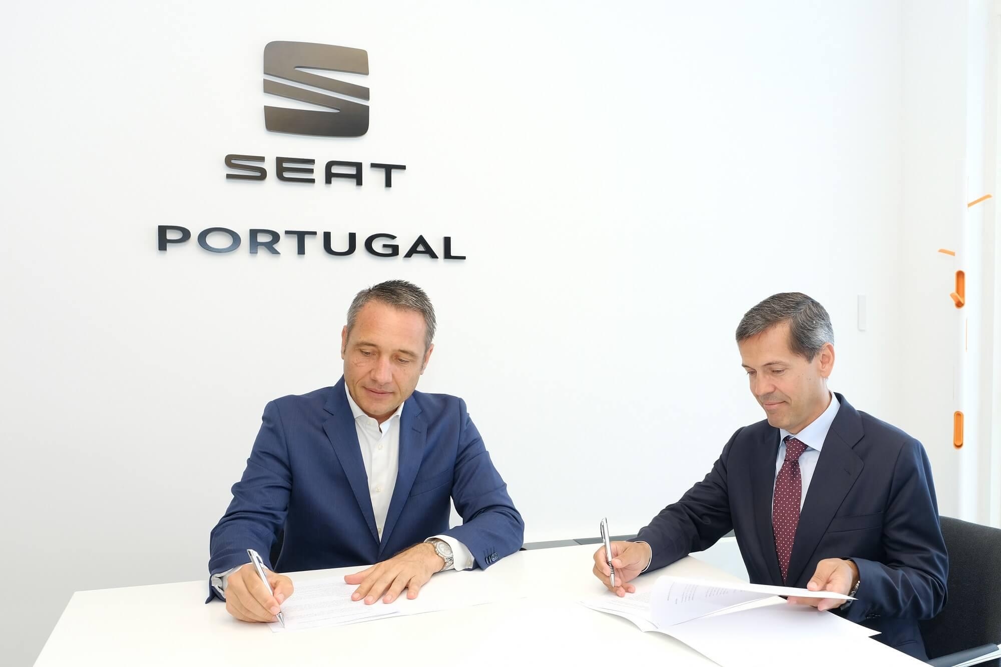 Protocolo de parceria SEAT e Dourogás