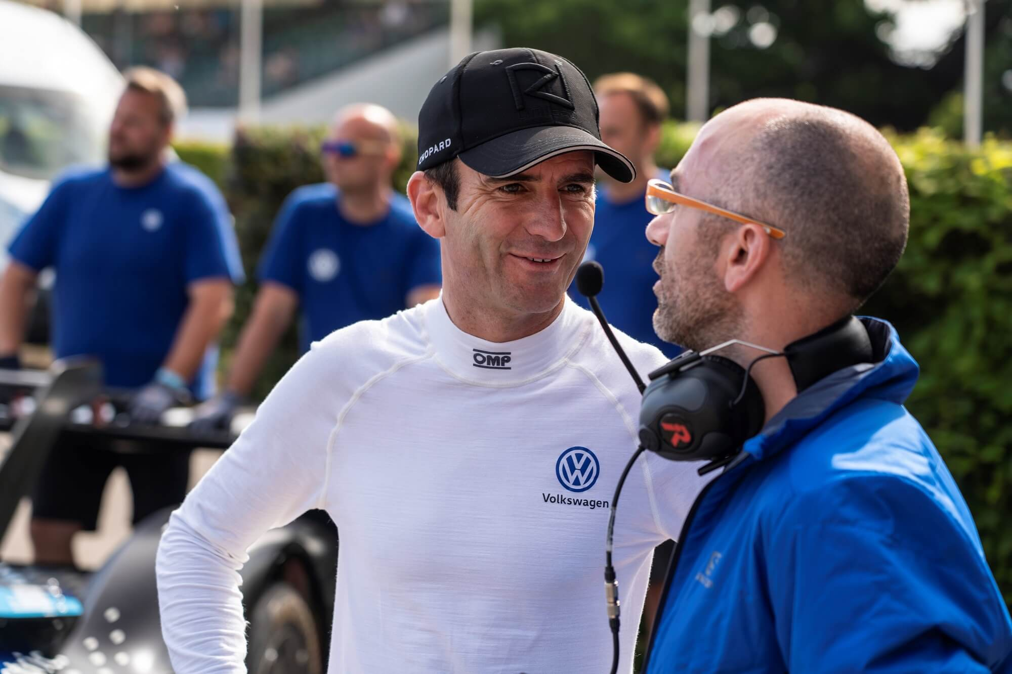 Romain Dumas, piloto do Volkswagen ID.R