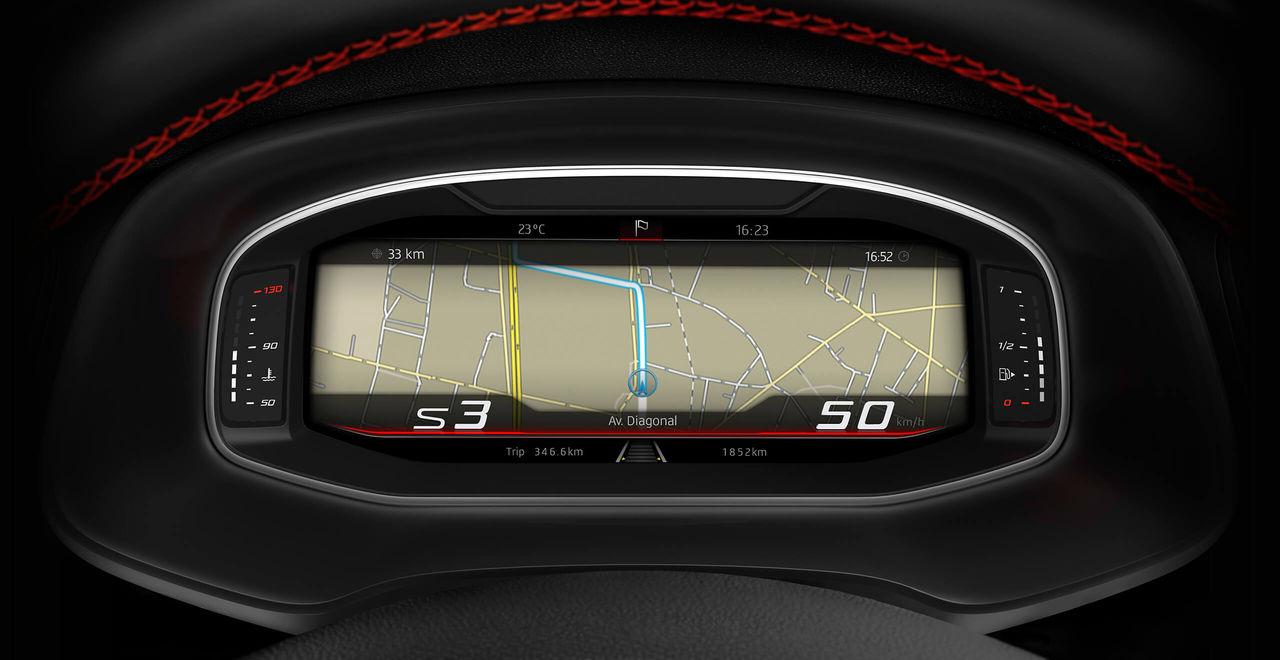 SEAT Leon cockpit virtual