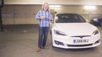 Tesla Model S James May