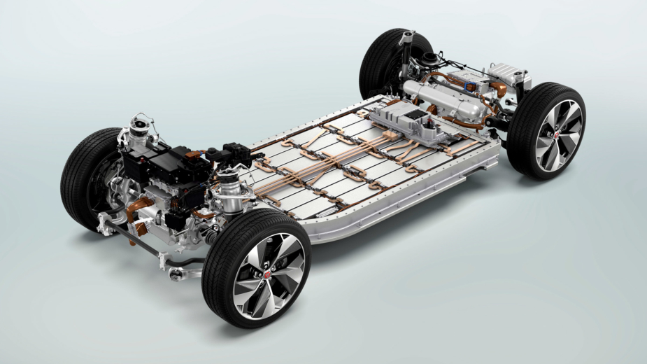 jaguar i-pace pack de baterias