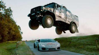 Kamaz vs Lamborghini Huracán