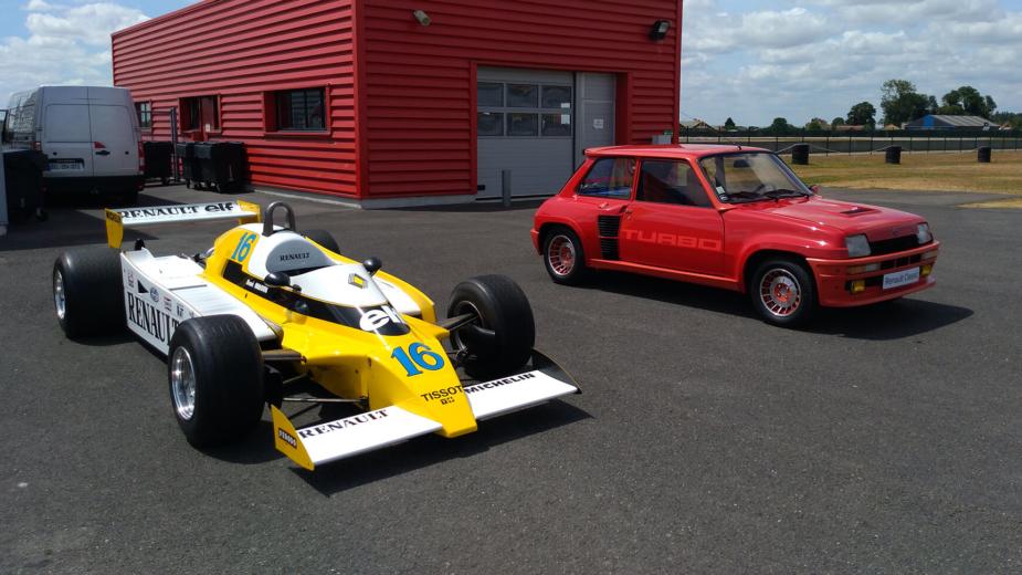 Renault RS10 e Renault 5 Turbo