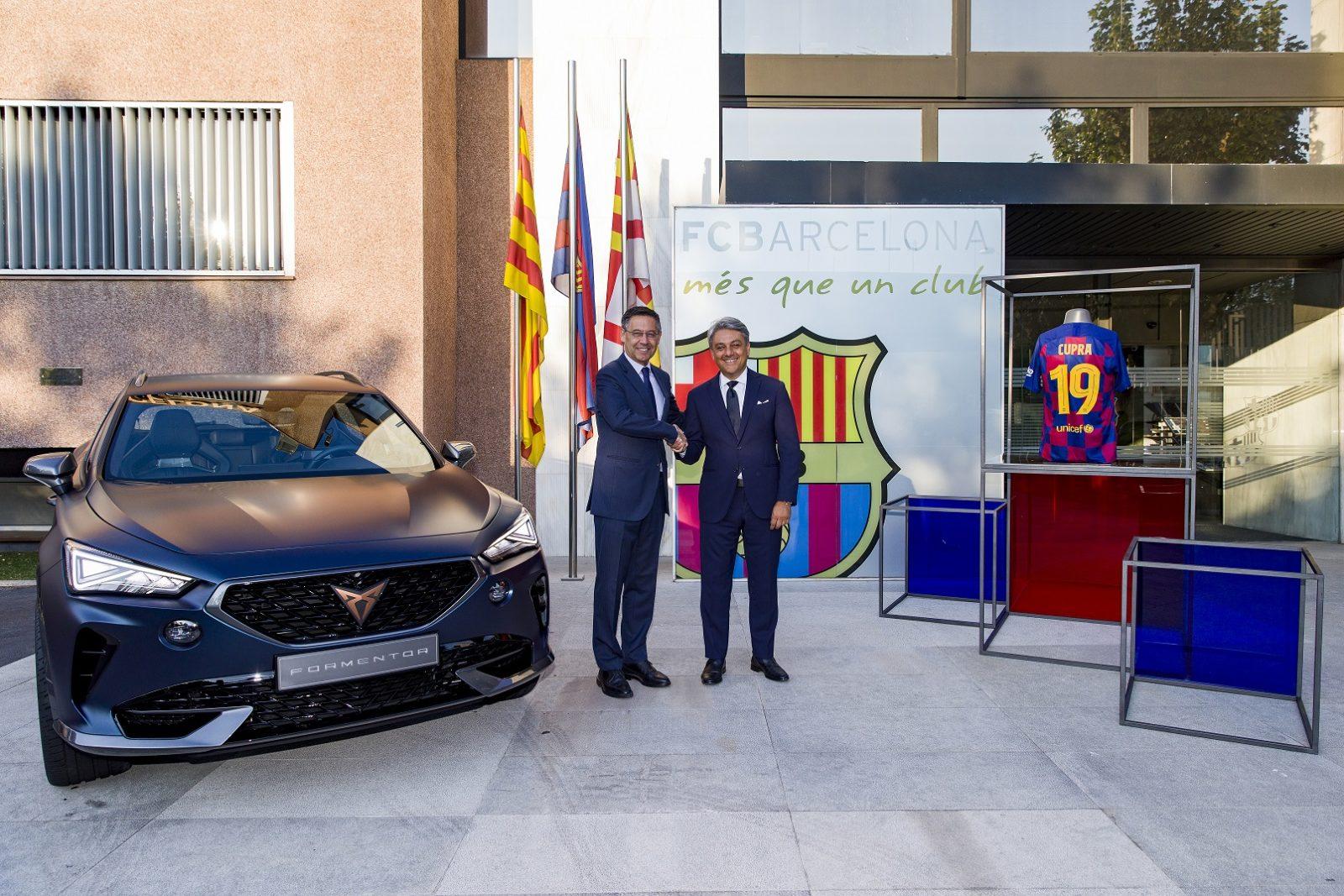 CUPRA e FC Barcelona, aliança